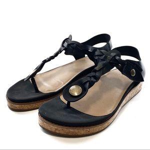 Crown vintage platform sandals